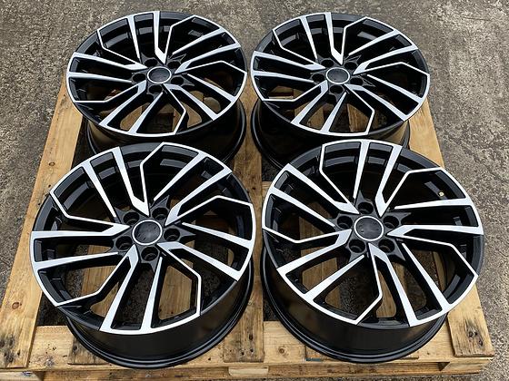 "18"" Audi RS 2021 Style Alloy Wheels 5X112"
