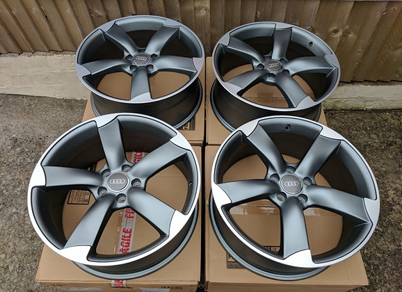 "18"" Audi Rotor style Alloy wheels"
