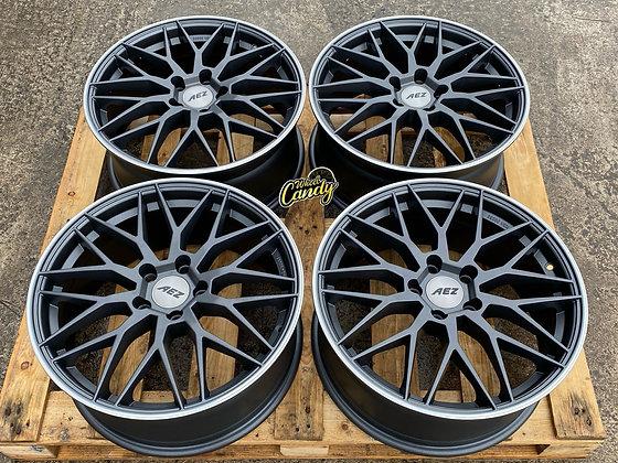 """18"""" AEZ Crest Alloy Wheels 5X112"""