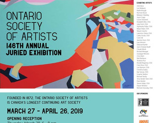 Ontario Society of Artists                       146 Annual Juried Exhibition