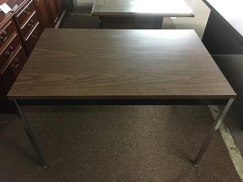 Black Steel Utility Table