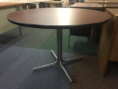 "42"" Wood Laminate Round Table"