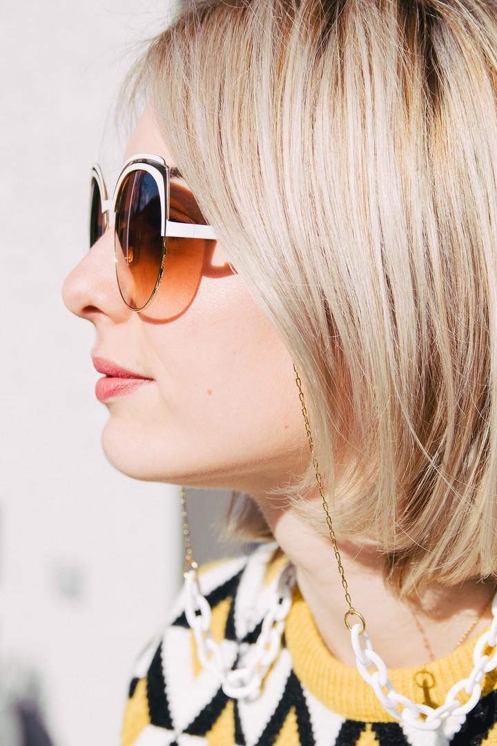 Les lunettes de Caroline