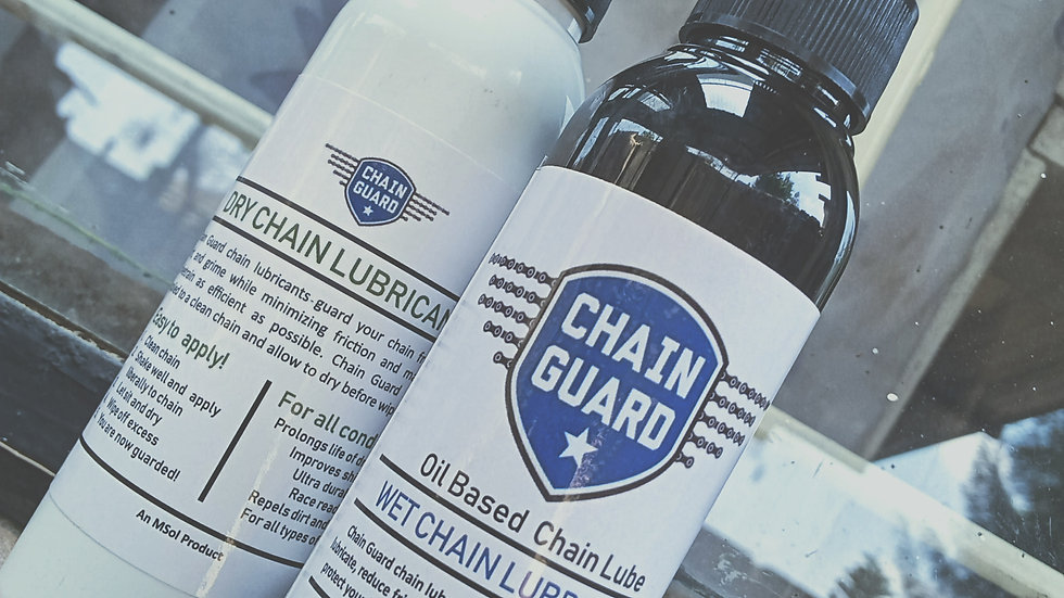 Dry Chain Lubricant (Dry lube)/Wet Lube