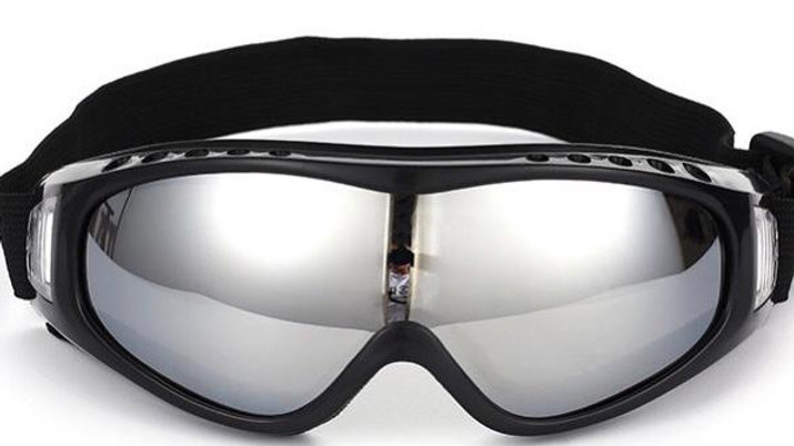 Breathable cycling glasses