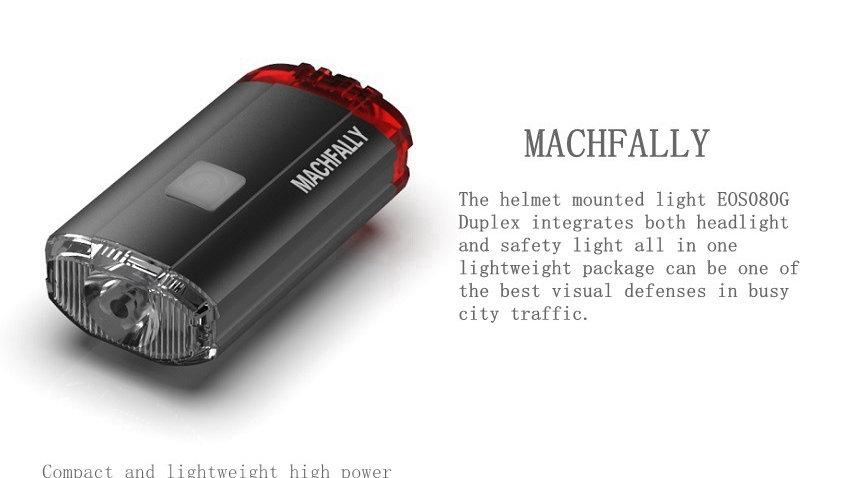 Machfally front + Tail light