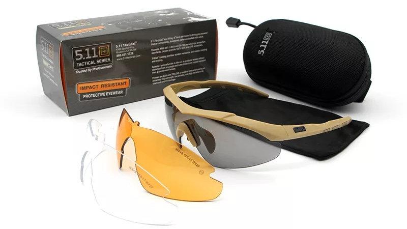 Tactical 511 glasses (Military grade)