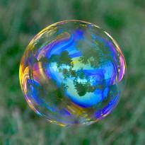 Bubble World Reflection