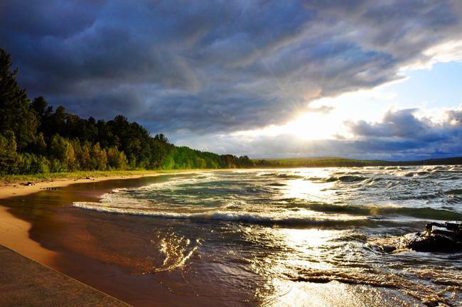 Lake Superior, Autrain MI USA