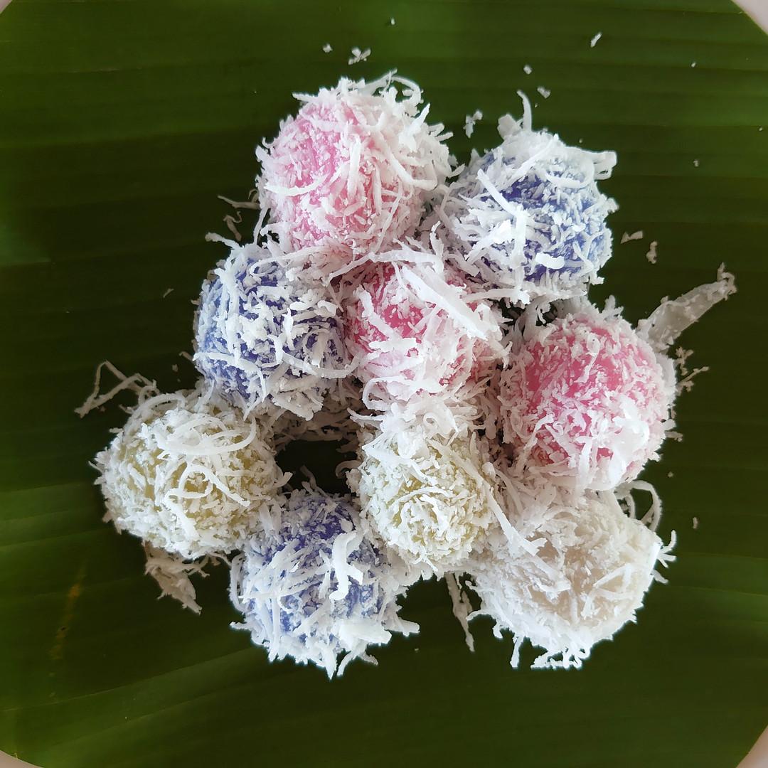 自家製米粉のタイ風お餅デザート.JPG