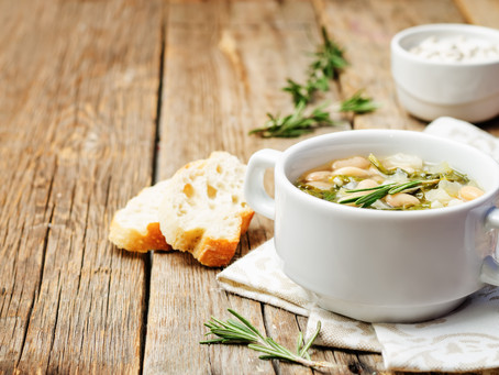 """2 EASY """"Pantry"""" Soups"""