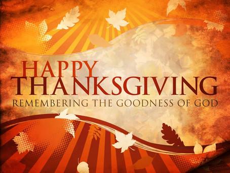 Thankfulness in Seasons of Change