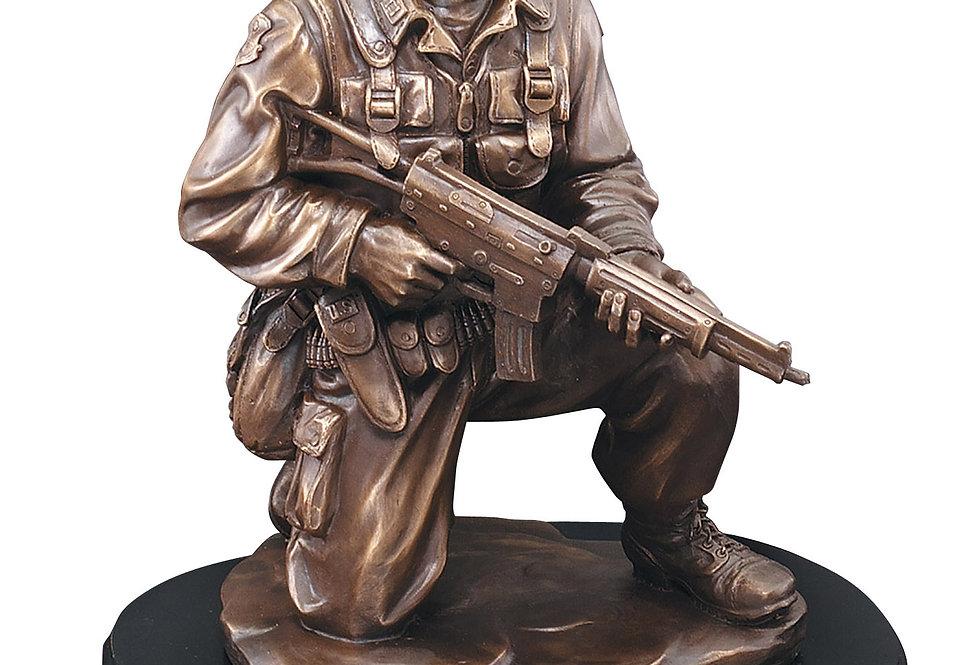 Kneeling Soldier Statue