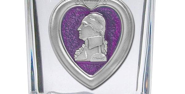 Purple Heart Shot Glass