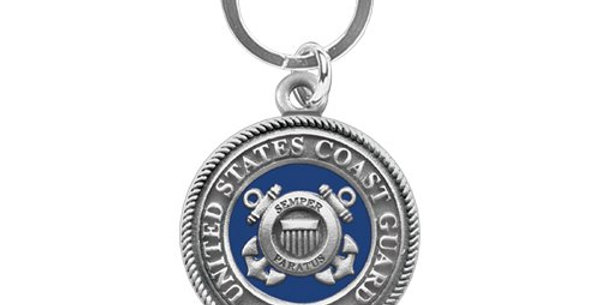 Coast Guard Key Chain