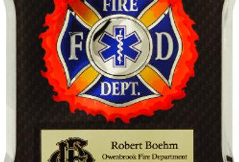 Firefighter Medical/EMT Hero Plaque