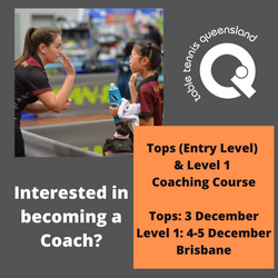 Tops & Level 1 Coaching Course