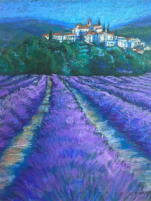 French Lavender Fields 2 by Patricia Clements
