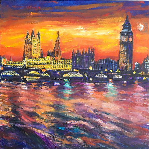 Big Ben by Patrica Clements