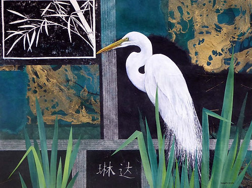 Egret by Linda Traverse Smith