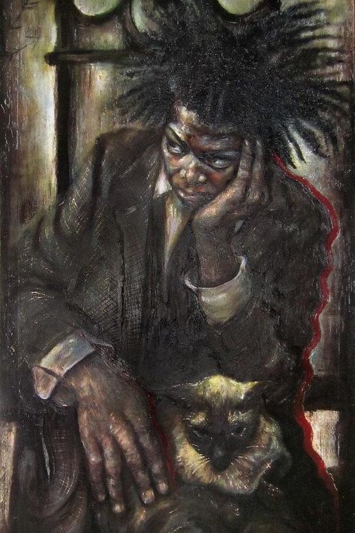 Basquiat (Print) by Judith Barton