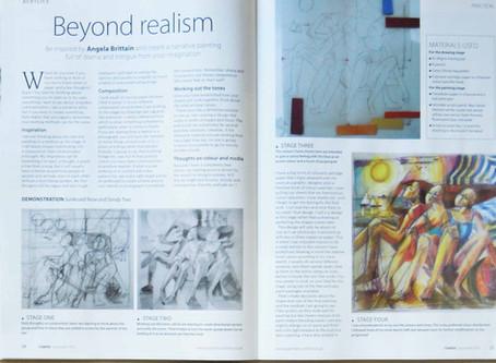 Angela Brittons - Beyond Realism 'The Artist' Magazine