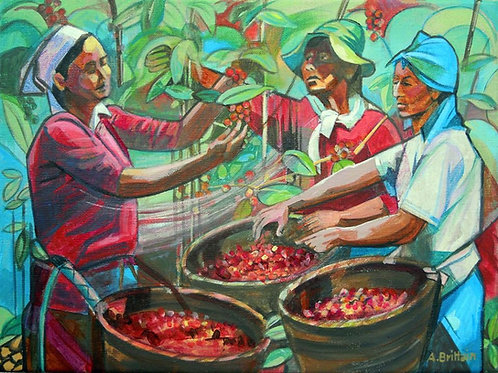 Coffee Pickers by Angela Brittain