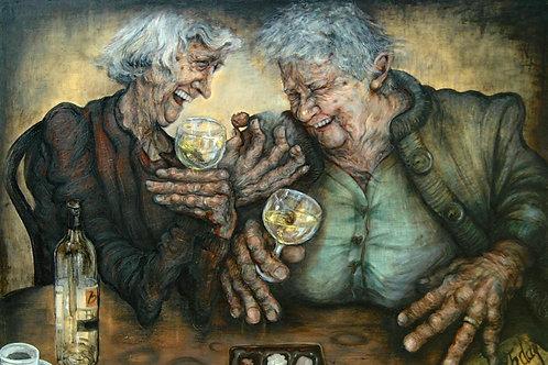 Birthday Girls (Print) by Judith Barton