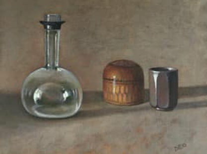 Glass Bottle by Diane Urwin