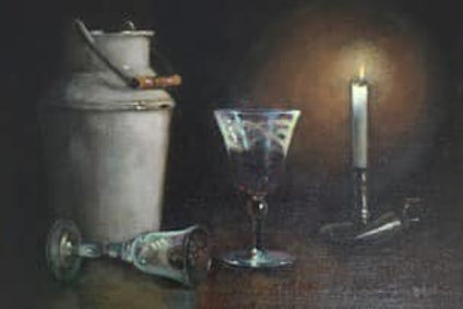 By Candle Light by Diane Urwin