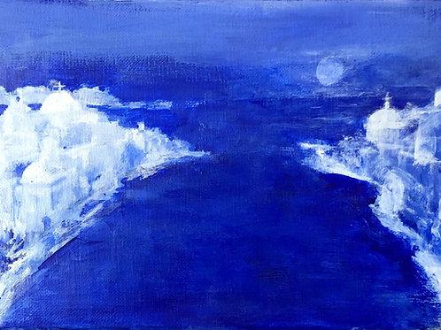 Blue Moon - by Sue Jelley