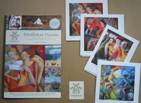 Angela Brittain SWA - Mistletoe House Contemporary Artists and Illustrators Cards