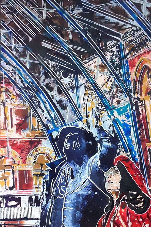 St Pancras Twins by Cathy Read