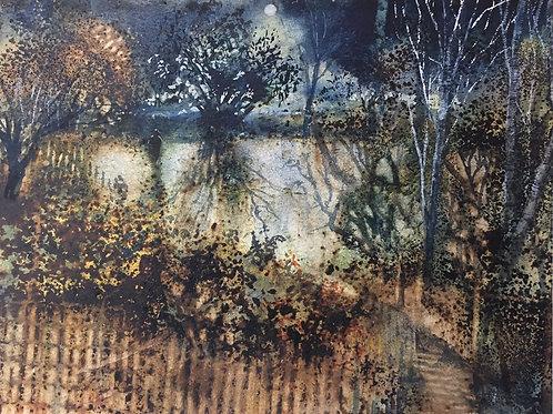 Moonlit Garden by Kate Bentley