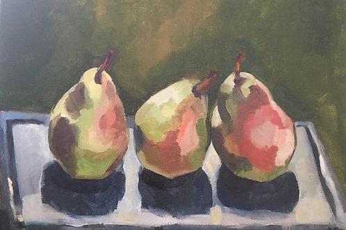 Tree Pears by Rachel Parker