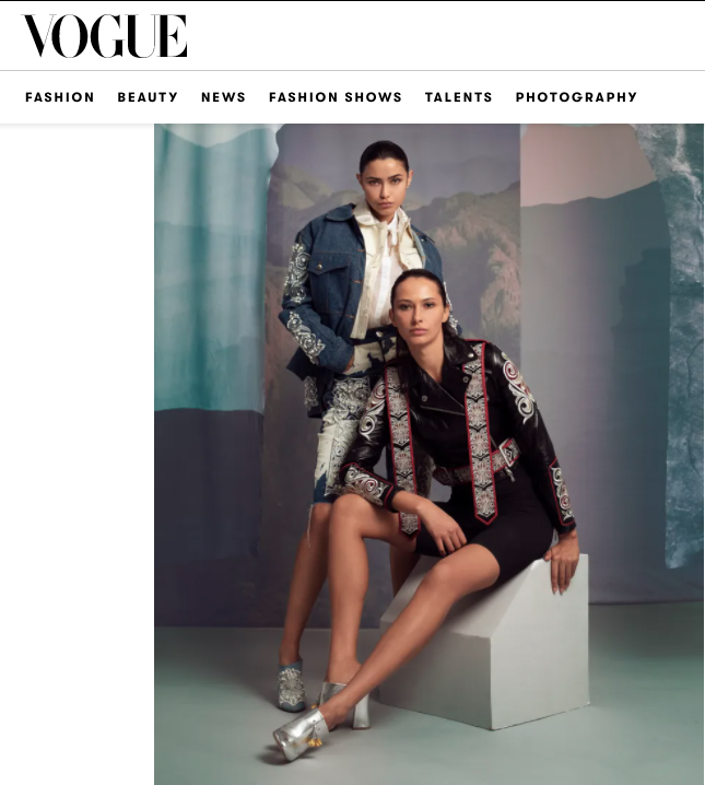 VOGUE ARABIA FASHION PRIZE 2020