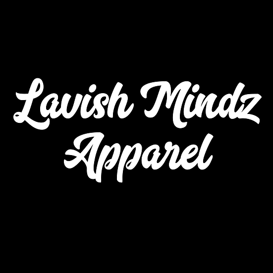 Cursive Lavish Mindz Apparel