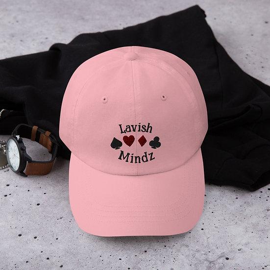 Lucky Lavish Dad Hat (Black Words)