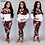Thumbnail: Lapel Zipper Sportswear Casual Camouflage 2 Piece Set