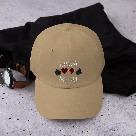 Lucky Lavish Dad Hat (White Words)