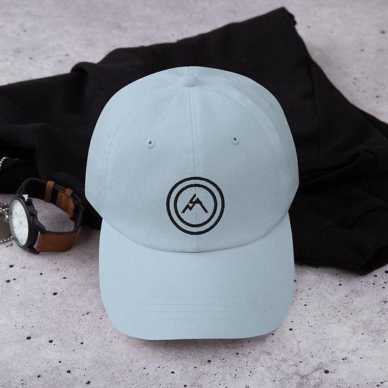 Black Bullseye Dad Hat
