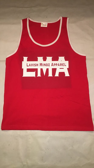 LMA Letters Tank Top