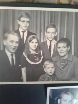hans dybka and family