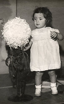 Mary Mann with Duke of Kent flower