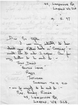 B051 Letter [Ritchie]May1997