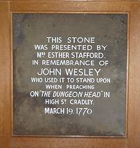 John Wesley memorial