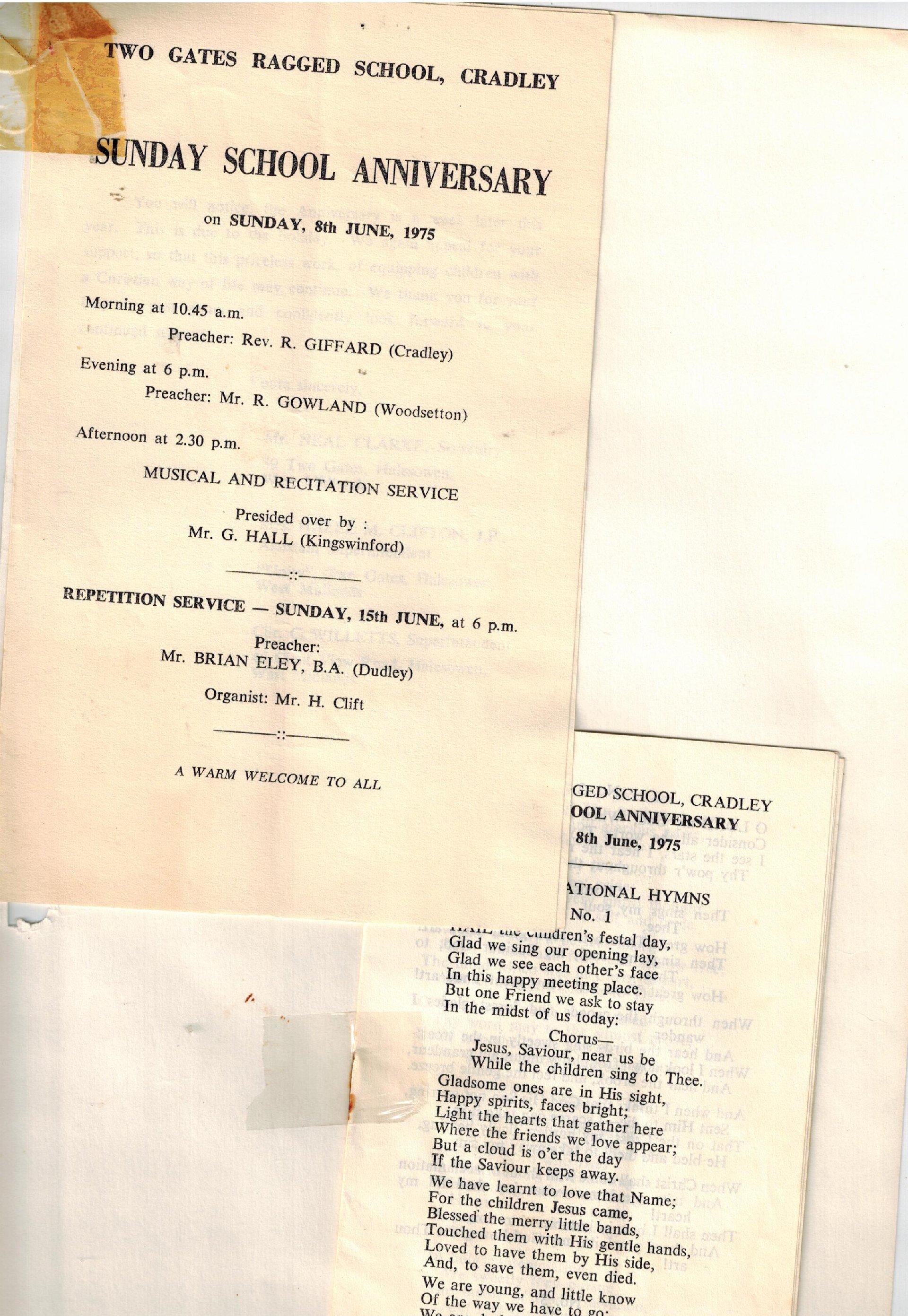 O185_Anniversary_1975]Recital