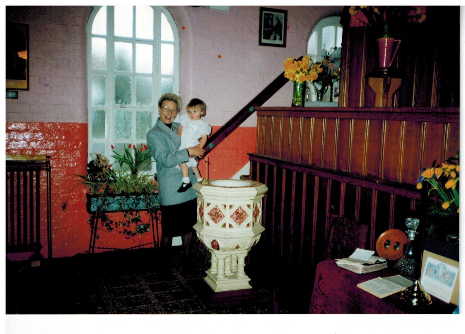 C006 Hazel_with_Zoe_Jane-EVETTS[baptism28-03-93]