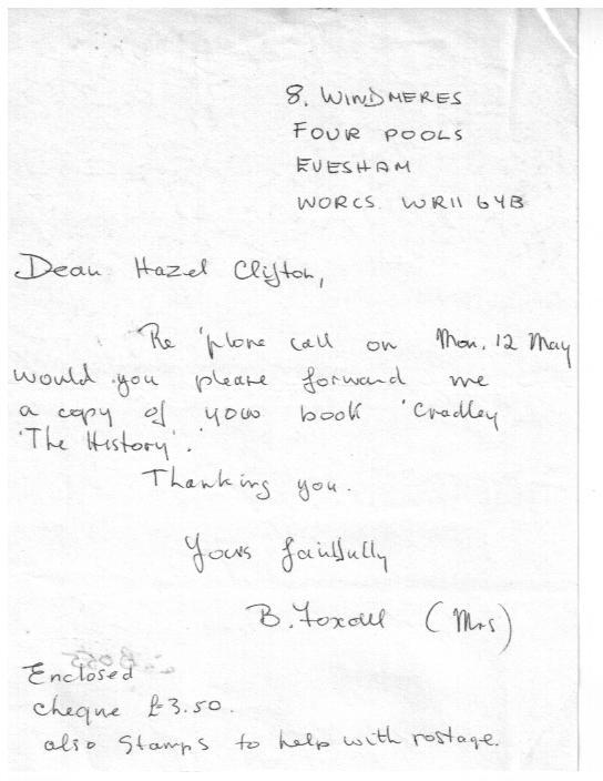 B055 Letter [Foxall]
