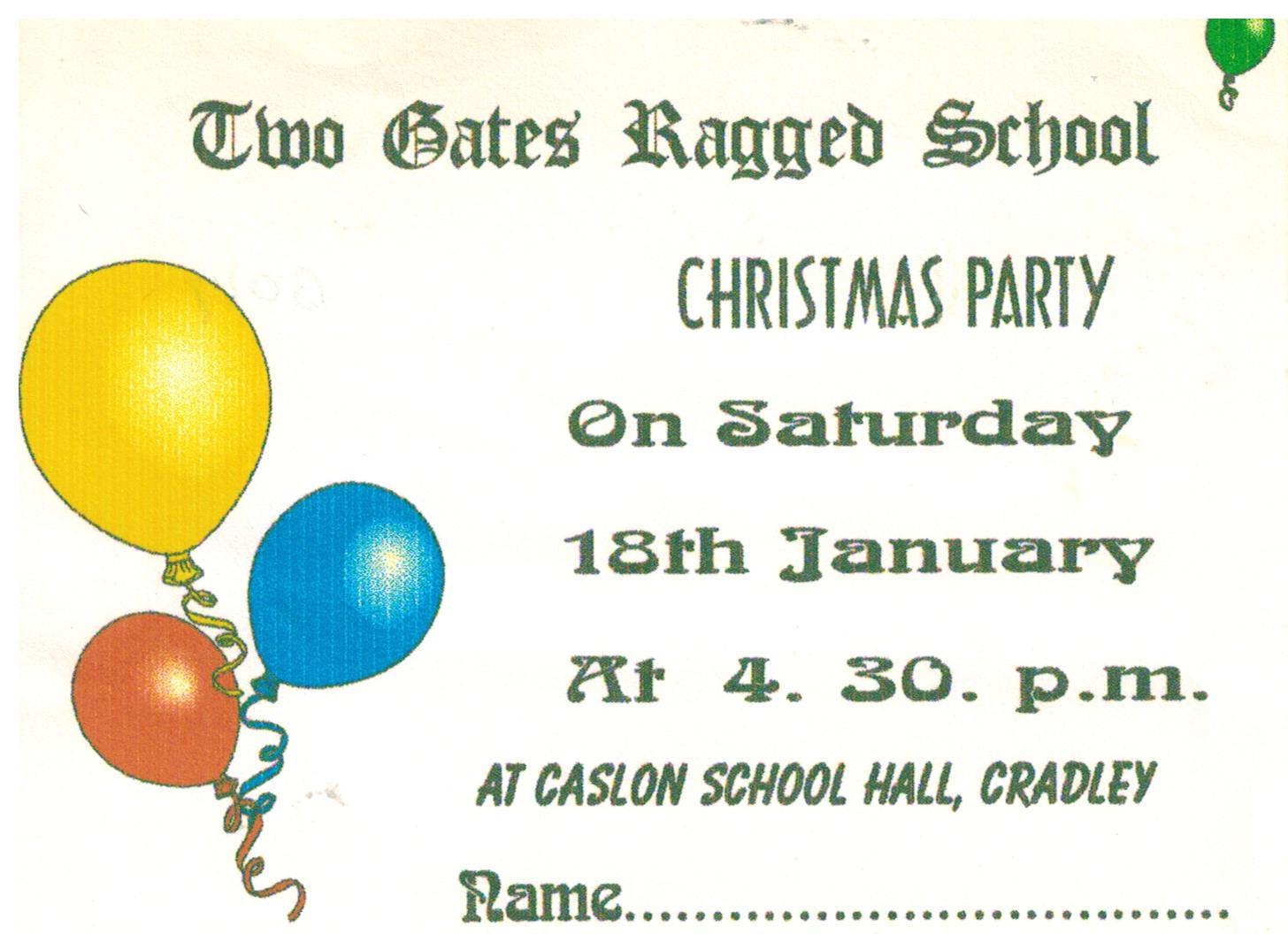 B017 Xmas Party [invite]